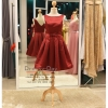 รหัส ชุดราตรีสั้น :PF036 ชุดราตรียาว เดรสออกงาน ชุดไปงานแต่งงาน ชุดแซก สีแดง เหมาะสำหรับงานแต่งงาน งานกลางคืน กาล่าดินเนอร์