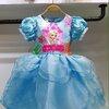 ชุดเด็ก : เดรสเจ้าหญิงโฟเซ่นสีฟ้า ทรงสั้น