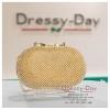 กระเป๋าออกงาน TE003: กระเป๋าออกงานพร้อมส่ง สีทอง ราคาถูกกว่าห้าง ถือออกงาน หรือ สะพายออกงาน สวย หรู ดูดีมากค่ะ