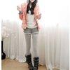 เลกกิ้งกางเกงขาสั้นกันหนาวบุขนแกะ ทรงสปอร์ต มี 3 สี