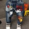 ชุดเด็ก : กางเกงยีนส์ ขายาว ทอมแอนเจอรี่