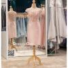 รหัส ชุดราตรี :PFS030 ชุดแซกผ้าลูกไม้ประดับเลื่อม ปาดไหล่สวยเก๋ ชุดราตรีสั้นหรู สีชมพู คาดเข็มขัดโบว์ช่วงเอว สวย สง่า ดูดีแบบเจ้าหญิง ใส่ไปงานแต่งงาน งานกาล่าดินเนอร์ งานเลี้ยง งานพรอม งานรับกระบี่
