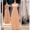 รหัส ชุดราตรียาว :BB119 ชุดแซก ชุดราตรียาว สีชมพู สวยหวาน น่ารัก แขนกุดสุดเรียบหรู งามสง่า ใส่ไปงานแต่งงาน งานเลี้ยง งานรับรางวัล งานกาล่าดินเนอร์ งานพรอม งานบายเนียร์ ชุดพิธีกร ชุดเพื่อนเจ้าสาว