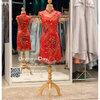 รหัส ชุดกี่เพ้า :KPS031 ชุดกี่เพ้าพร้อมส่ง มีชุดกี่เพ้าคนอ้วน แบบสั้น สีแดง ปักลูกไม้ คัตติ้งเป๊ะมาก ใส่ออกงาน ไปงานแต่งงาน ใส่เป็นชุดพิธีกร ชุดเพื่อนเจ้าสาว ชุดถ่ายพรีเวดดิ้ง ชุดยกน้ำชา หรือ ใส่ ชุดกี่เพ้าแต่งงาน สวยมากๆ ค่ะ