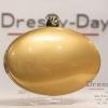 กระเป๋าออกงาน TE030 : กระเป๋าออกงานรูปไข่สีทอง พร้อมส่ง สวยเก๋แบบไม่ซ้ำใคร ด้วยตัวล็อคประดับเพชร ใช้สะพายออกงานเช้า กลางวัน หรือถือไปงานกลางคืน ออกเดท สวยหรูดูดีที่สุด