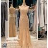 รหัส ชุดแต่งงาน : PFL0121 ชุดเจ้าสาวสีทอง พร้อมส่ง ราคาถูกกว่าเช่า ใส่ถ่ายพรีเวดดิ้ง ชุด after party สวย หรู อลังมากค่ะ