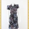 1936ชุดทํางาน เสื้อผ้าคนอ้วนลายวินเทจคละสีปกเชิ๊ตกระดุมหน้าด้วยรูปเรียบง่ายสไตล์สปอร์ตเนื้อผ้าวาเลนติโน่