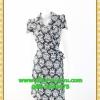 1908ชุดทํางาน เสื้อผ้าคนอ้วนลายvintageสีกรมสไตล์เปรี้ยวหรูไฮโซชุดป้ายสำเร็จมีปกแขนยาวแต่งโบข้างเอวเก็บทรงเนี๊ยบสุด