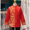 รหัส เสื้อจีนชาย : KPM011 เสื้อจีนชาย พร้อมส่ง ชุดจีนชาย โบราณ สีแดง ดีเทลทอง เหมาะมากสำหรับใส่ในพิธียกน้ำชา ถ่ายพรีเวดดิ้ง และสำหรับญาติเจ้าภาพ