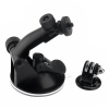Suction Cup Mount +Tripod Adapter for GoPro