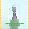 2410ชุดแซกทำงาน เสื้อผ้าคนอ้วนแจ๊คเก็ตขาวคลุมด้านนอกคล้ายสวมทับเกาะอกด้านในสไตล์สาวมั่นใจ คล่องตัว