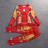 เสื้อกันหนาว ชุดเซ็ตเสื้อแขนยาว+กางเกงขายาว ไอร่อนแมน