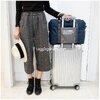กระเป๋าขึ้นเครื่อง Travel Bag แบบพับเก็บได้ ใบใหญ่ มี 4 สี