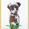3079เสื้อผ้าคนอ้วน ชุดทำงานสไตล์คนเมืองทันสมัยลายกราฟฟิคดำผ้าเครปคอกลมแขนล้ำสวยมั่นใจแบบสาวอวบโมเดิร์นล้ำ
