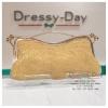 กระเป๋าออกงาน TE000: กระเป๋าออกงานพร้อมส่ง สีทอง มีที่จับ สวยหรูมากค่ะ ราคาถูกกว่าห้าง ถือออกงาน หรือ สะพายออกงาน น่ารักที่สุด