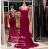 รหัส ชุดราตรียาว : PF012 ชุดราตรียาว สวยๆ สีชมพูช็อคกิ้งพิ้ง สีชมพูอมม่วง โชว์แผ่นหลังเซ็กซี่ปังมาก ใส่ไปงานแต่งงาน งานกาล่าดินเนอร์ งานเดินพรหมแดง งานบายเนียร์ งานรับกระบี่ งานเลี้ยง งานประกวด ถ่ายพรีเวดดิ้ง สวยสุดๆ