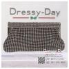 กระเป๋าออกงานพร้อ TE046 : กระเป๋าออกงานพร้อมส่ง สีดำ กระเป๋าคลัชตกแต่งเพชรทั้งใบสวยหรูมากค่ะ ใบยาวใส่ไอโฟนได้ ราคาถูกกว่าห้าง ถือออกงาน หรือ สะพายออกงาน น่ารักที่สุด สำเนา