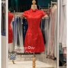 รหัส ชุดกี่เพ้า :KPS062 ชุดกี่เพ้าพร้อมส่ง มีชุดกี่เพ้าคนอ้วน แบบสั้น สีแดง คัตติ้งเป๊ะมาก ใส่ออกงาน ไปงานแต่งงาน ใส่เป็นชุดพิธีกร ชุดเพื่อนเจ้าสาว ชุดถ่ายพรีเวดดิ้ง ชุดยกน้ำชา หรือ ใส่ ชุดกี่เพ้าแต่งงาน สวยมากๆ ค่ะ