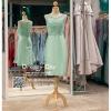 รหัส ชุดราตรี :PFS039 ชุดแซกผ้าลูกไม้งานสวยตกแต่งกริตเตอร์ ชุดราตรีสั้นหรูสีเขียวมิ้น สวย สง่า ดูดีแบบเจ้าหญิง ใส่เป็นชุดไปงานแต่งงาน งานกาล่าดินเนอร์ งานเลี้ยง งานพรอม งานรับกระบี่ สำเนา