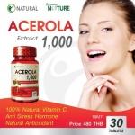 The Nature Acerola 1,000 สารสกัดจากอะเซโรล่าเชอร์รี่