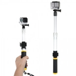 "NEWEST 1/4""-20 Threaded Floating Extension Pole Handle Monopod Tripod For GoPro HERO 3 3+ 4"