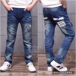 ชุดเด็ก : กางเกงยีนส์ ขายาว แบบ E