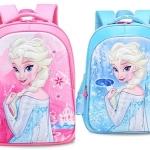 กระเป๋าเป้ เจ้าหญิง โฟเซ่น สีชมพู ,สีฟ้า