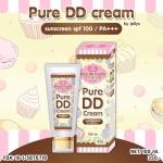 Pure DD Cream by jellys sunscreen spf 100/PA+++ ดีดีครีมเจลลี่ หัวเชื้อผิวขาว 100% ผิวขาวใสออร่าทันทีที่ทา กันน้ำ กันแดด