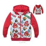กันหนาว : เสื้อกันหนาว แองกี้เบิร์ดสีแดง