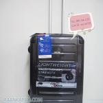 กระเป๋าเดินทาง 100%PC Flying master 3037 ขนาด 25 นิ้ว สีดำเคฟล่า ส่งฟรีkerry