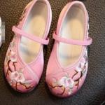 รองเท้าจีนเด็ก สีชมพูอ่อน B