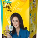B SHAPE COFFEE Flow by jintara บีเชฟ คอฟฟี่ โฟว์ บาย จินตหรา กล่องเหลือง สูตรไฮไฟเบอร์และถั่วขาว ควบคุมน้ำหนัก และช่วยระบบขับถ่าย