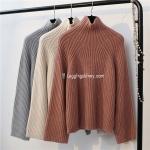 เสื้อไหมพรมคอสูงญี่ปุ่น มี 3 สี