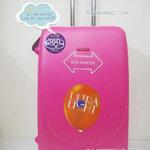 กระเป๋าเดินทาง Hipolo 100%ABS ขนาด 28 นิ้ว สีชมพู