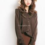EAL เสื้อสเวตเตอร์ญี่ปุ่น รุ่นมีปก มี 4 สี