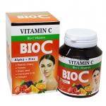 BIO C Vitamin Alpha + Zinc ไบโอ ซี วิตามิน ผิวใสไบร์ท ออร่า สารสกัดจัดเต็ม