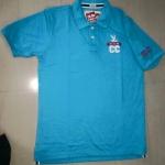 ชุดผู้ใหญ่ : เสื้อเชิ๊ตโปโล cc-oo สีฟ้า