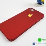 เคส iPhone SE , 5s , 5 - สีแดง พลาสติกบางสวย