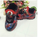 รองเท้าผ้าใบ สไปเดอร์แมน สีแดง
