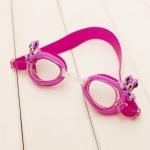 แว่นตาว่ายน้ำเด็ก มินนี่สีม่วง