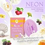 Neon Sweet Whitening Cream Soap by MN SHOP นีออน สวีท ไวท์เทนนิ่ง ครีม โซบ สบู่นีออน สบู่สูตรครีม ฟองนุ่มละเอียด สัมผัสความแตกต่างในครั้งแรก