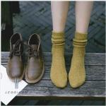 ถุงเท้าวูลขนสัตว์ญี่ปุ่น ถุงเท้ากันหนาว มี 6 สี