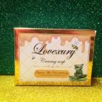 Lovexury Creamy Soap สบู่ครีมล้างหน้าเลิฟซูรี่ สบู่ว่านหางผสมน้ำผึ้ง อ่อนโยน ลดผดผื่น ลดการระคายเคือง