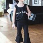กางเกงขายาวสกินนี่สีดำ