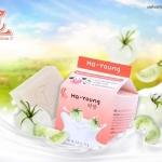 Ha-Young ฮา-ยัง สบู่น้ำนมเข้มข้น ผสมสารสกัดจากมะเขือเทศสีขาว
