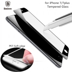 iPhone 7 - ฟิล์มกระจกเต็มจอ 3D ยี่ห้อ Baseus