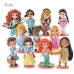 ของเล่นเด็ก เซ็ตตุ๊กตาโมเดลเจ้าหญิง ขนาด 8 cm