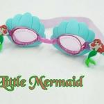แว่นตาว่ายน้ำเด็ก เงือกสีเขียว