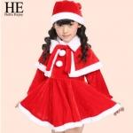 ชุดกันหนาวเด็ก :ชุดซานตี้ เด็กหญิง