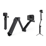3 Way [OEM] ด้ามยาง Monopod Tripod Grip Super Portable Magic Mount Selfie Stick for GoPro Hero5 4 / 3+ / 3